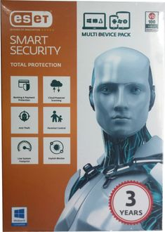 Eset Smart Security Version 9 (2016) 1Pc 3Year Price in India
