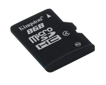 Kingston 8GB MicroSDHC Class 4 (13MB/s) Memory Card Price in India
