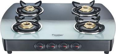 Prestige GTS 04 Manual Gas Cooktop (4 Burner) Price in India