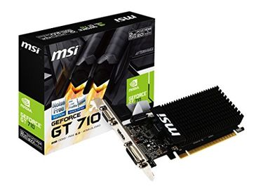 MSI Geforce GT 710 (GT-710-2GD3H-LP) 2GB DDR3 Graphics Card Price in India