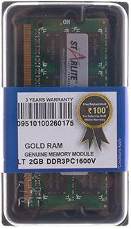 STARLITE LT PC1600V-Gold 2GB DDR3 Laptop Ram Price in India