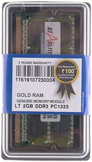 STARLITE LT PC1333-Gold 2GB DDR3 Laptop Ram Price in India