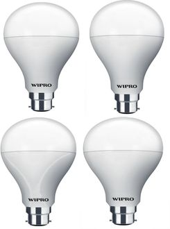 Wipro Garnet 14 W LED Bulb (Warm White, Pack of 4) Price in India