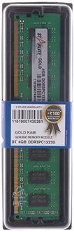 STARLITE DT PC1333U-Gold 4GB DDR3 Desktop Ram Price in India