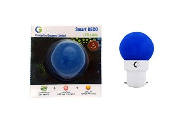 Crompton Greaves 0.5W B22 Deco LED Lamp (Blue) Price in India
