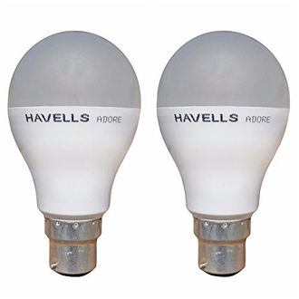 Havells Adore 10W B22 LED Bulb (Cool Day Light, Pack Of 2) Price in India