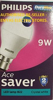 Philips Ace Saver 9W B22 825L LED Bulb (Cool Day Light, Pack Of 7) Price in India