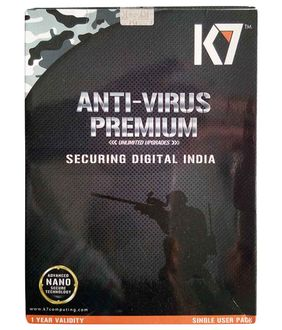 K7 Antivirus Premium 2016 1 PC 1 Year Price in India