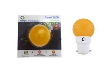 Crompton Greaves 0.5W B22 Deco LED Lamp (Yellow) Price in India
