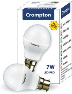 Crompton Greaves B22 7W LED Bulb (White) Price in India