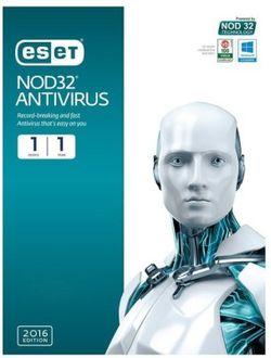 Eset Nod32 Antivirus 2016 1User 1Year Price in India