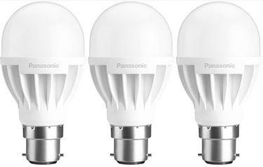 Panasonic 7W B22 LED Bulb (White, Pack Of 3) Price in India