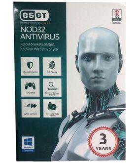 Eset NOD32 Antivirus Version 9 1 PC 3 Year Price in India