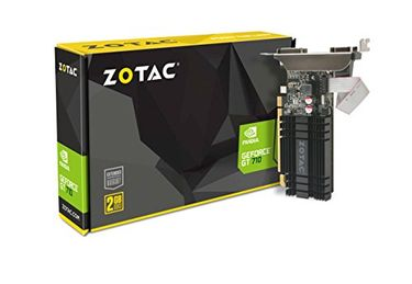 Zotac GeForce GT 710 (ZT-71302-20L) 2GB DDR3 Zone Edition Graphics Card Price in India