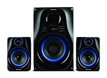 Philips MMS2580B Blue Dhoom Speaker System Price in India