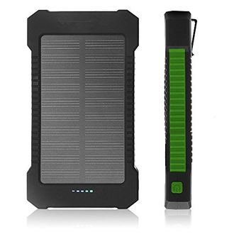 Foobi 12000mAh Solar Power Bank Price in India