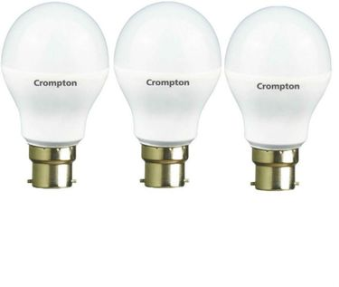Crompton 12W B22 1200L LED Bulb (White, Pack Of 3) Price in India