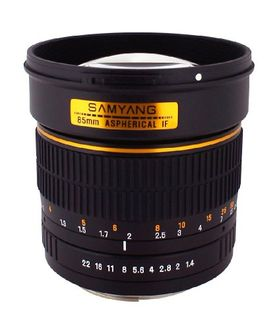 Samyang SY85MAE-N 85mm F/1.4 Prime Lens (For Nikon AE) Price in India