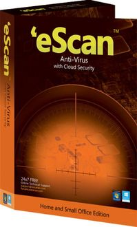 eScan AntiVirus with Cloud Security 2 Users 1 Year Price in India