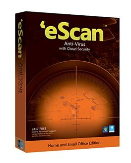 eScan AntiVirus with Cloud Security 3 Users 1 Year Price in India