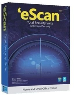 eScan Total Security Suite with Cloud Security 5 PC 1 Year Price in India