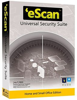 eScan Universal Security Suite 3 User 1 Year Price in India