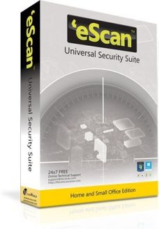 eScan Universal security suite 1 PC 1year Price in India