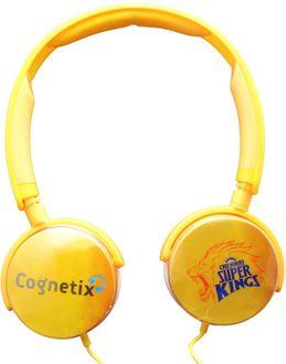 Cognetix CX311 Chennai Super Kings DIY Headphones Price in India