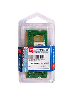 Simmtronics 4GB DDR3 1333Mhz Laptop Ram Price in India