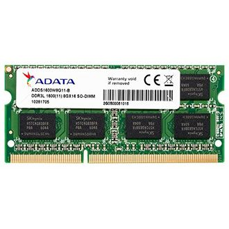 A-DATA (ADDS1600W8G11-R) 8GB DDR3 Laptop Ram Price in India