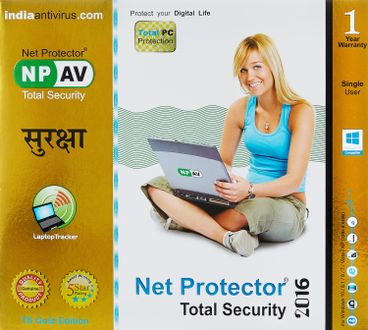 NPAV Net Protector Total Security Gold Edition 2016 1PC 1Year Price in India