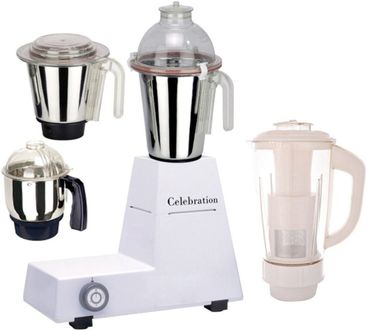 Celebration MG16-53 4 Jars 600W Mixer Grinder Price in India