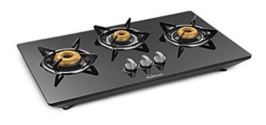 Sunflame CT HOB SS Gas Cooktop (3 Burner) Price in India