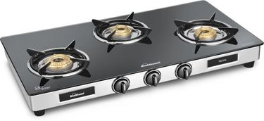 Sunflame GT Regal SS Gas Cooktop (3 Burner) Price in India