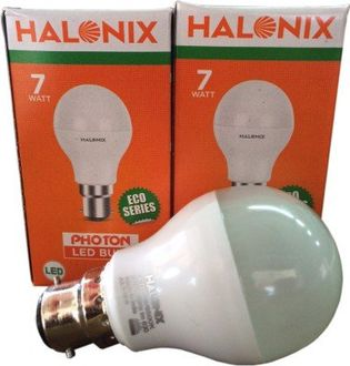 Halonix Photon 7W B22 LED Bulb (White, Pack Of 2) Price in India