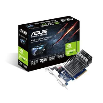 Asus GeForce GT 710 (710-2-SL) 2GB DDR3 Graphic Card Price in India