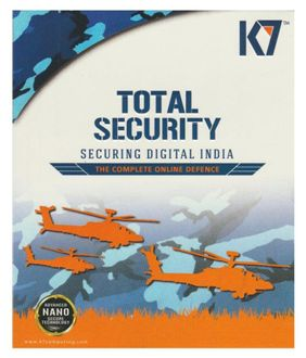 K7 Total Security 2016 2 User 1 Year Price in India