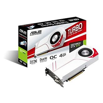 Asus Turbo GeForce GTX 970 (TURBO-GTX970-OC-4GD5) 4GB GDDR5 Graphic Card Price in India