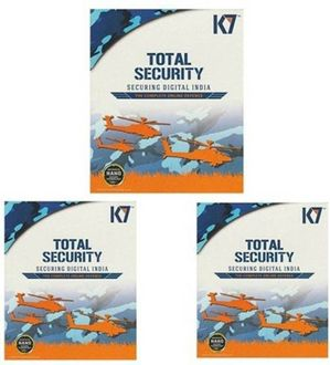 K7 Total Security 2016 3User 1Year Price in India