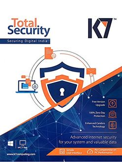 K7 Total Security 2016 1User 1Year Price in India