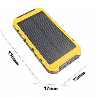 Gizmobitz 12000mAh Solar Power Bank Price in India