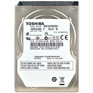 Toshiba MK3276GSX 320GB Internal hard disk Price in India