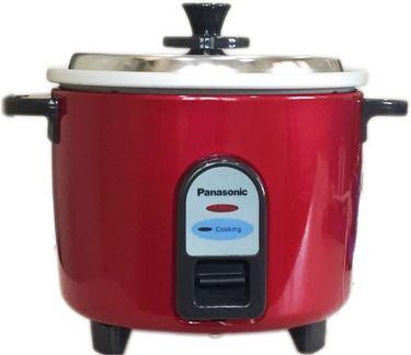 Panasonic SRWA10-GE9 Burgandy 1 L Electric Rice Cooker Price in India