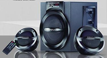 Oshaan CMPL 111 2.1 Multimedia Speakers Price in India