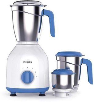 Philips HL7555/00 600 W Mixer Grinder (3 Jars) Price in India