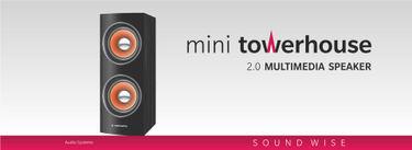 Manzana Mini Towerhouse 2.0 Multimedia Speaker Price in India