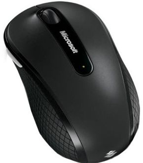 Microsoft Wireless Mobile Mouse 4000 Price in India