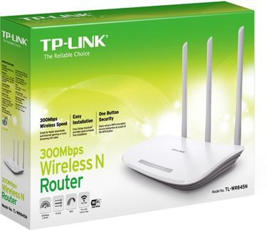 TP-LINK TL-WR845N 300Mbps Wireless-N Router Price in India