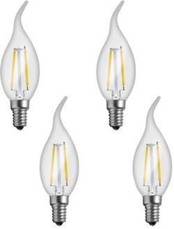 Imperial LWP02 2W E14 LED Filament Bulb (White, Pack Of 4)  Price in India