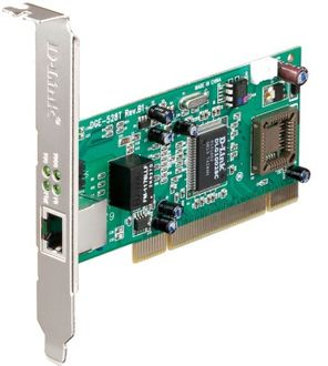 D-Link DGE-528T 32 bit 10/100/1000Base-T PCI Adapter Network Interface Card Price in India